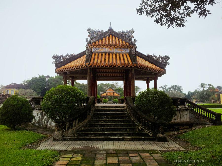 вьетнам, хюэ, императорский город