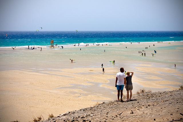 канары отдых пляж фуэртевентура