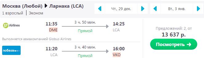 полететь на новый год на Кипр