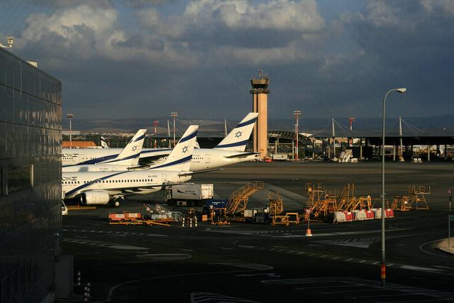 как добраться до аэропорта тель авива