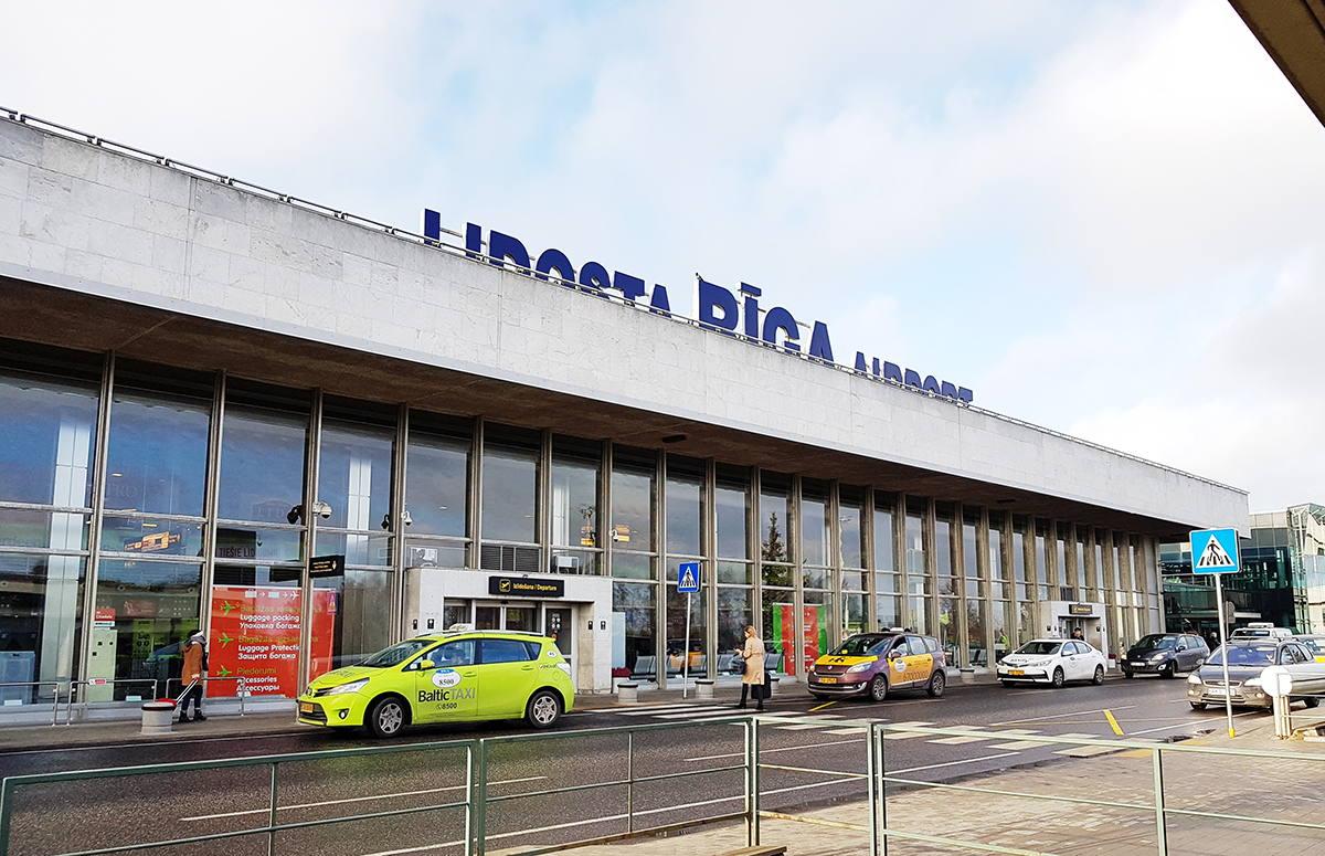 такси из аэропорта риги в центр