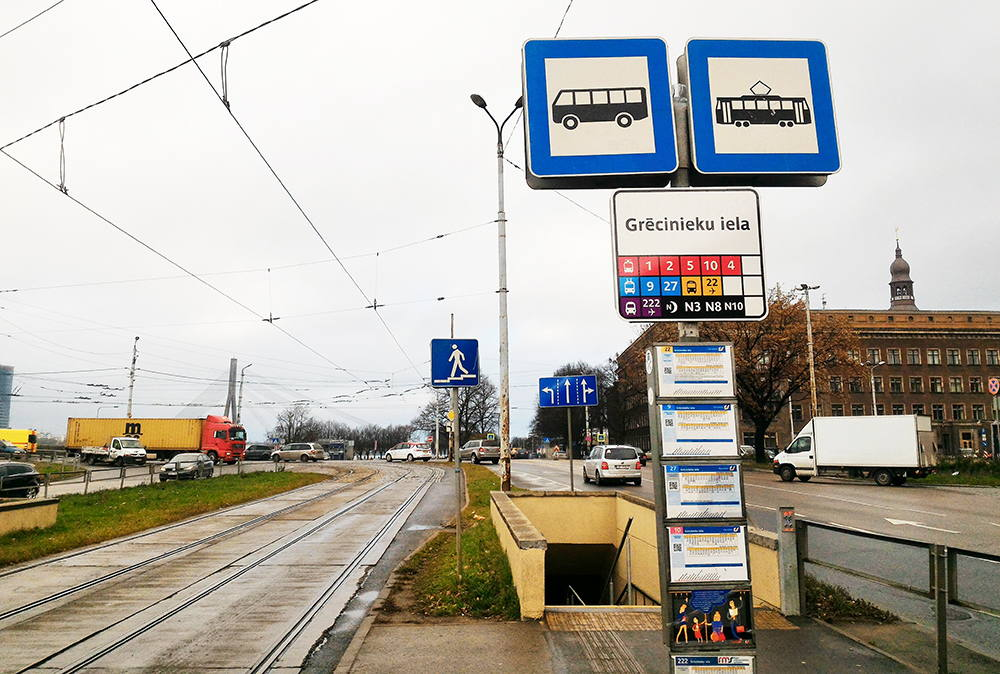 остановка автобуса в аэропорт риги
