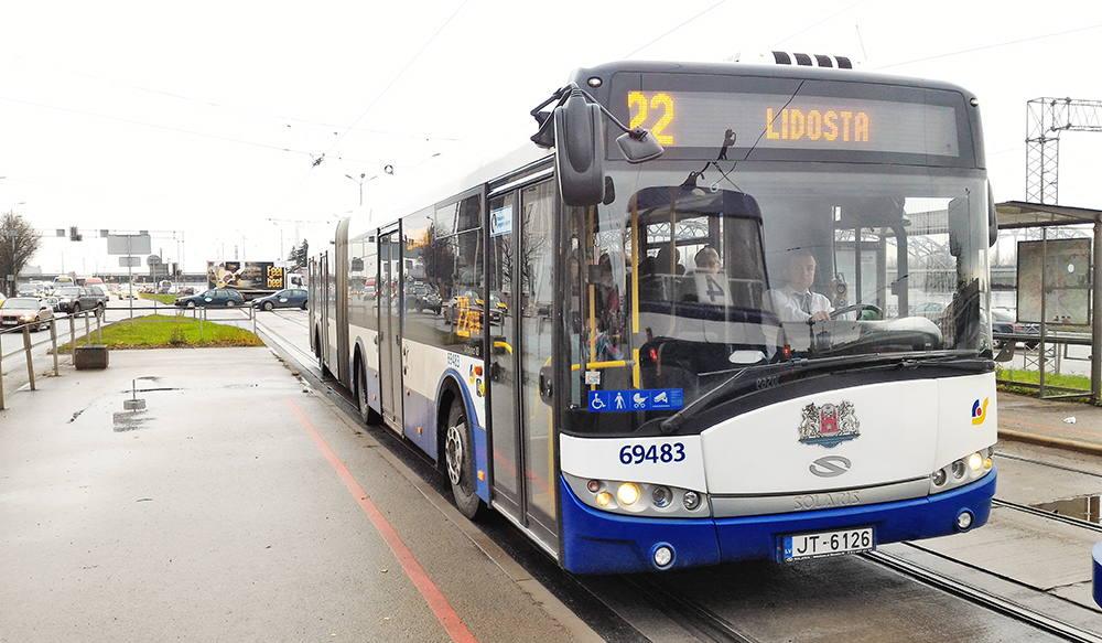 автобус из аэропорта риги в центр города