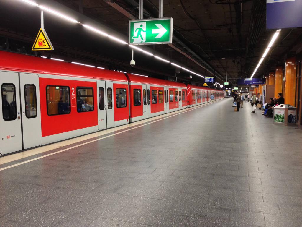 Из аэропорта до Центрального вокзала Мюнхена