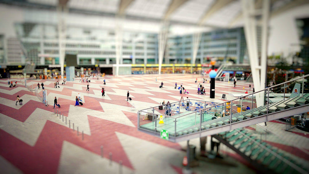 Маршрут: Аэропорт — вокзал Мюнхена
