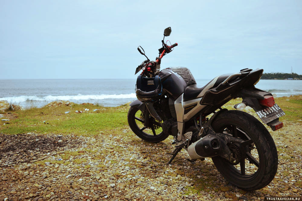 на мотоцикле по индонезии truetraveller