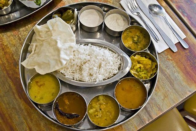 индия цены на еду