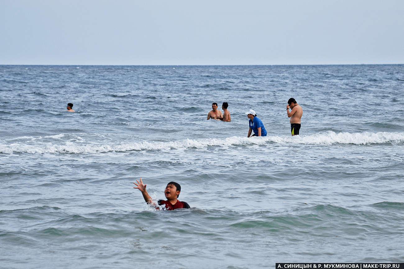 Пляж Бай Сао на острове Фукуок во Вьетнаме