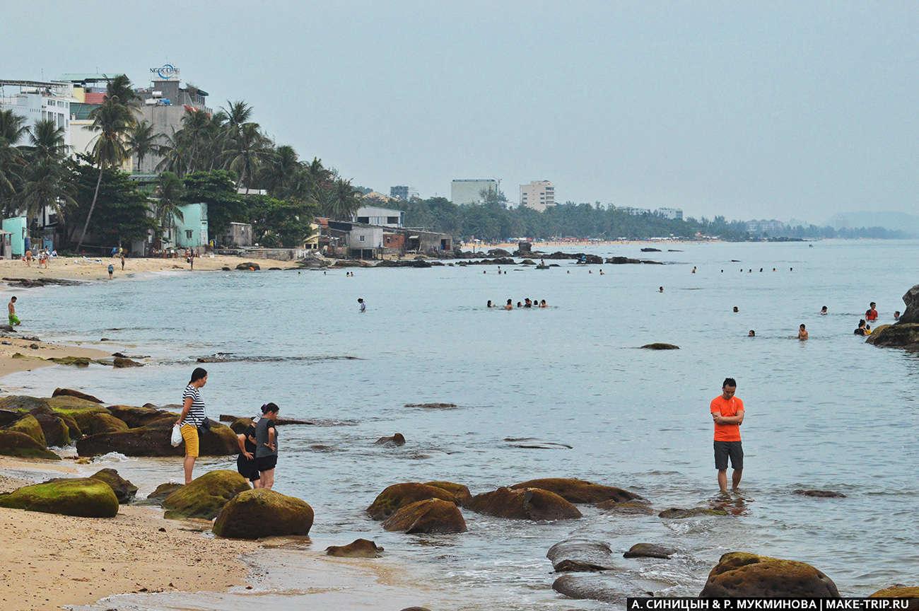Пляж Бай Кхем на Фукуоке во Вьетнаме