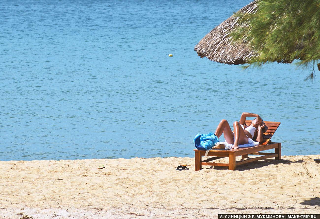 Недорогой пляжный отдых в апреле