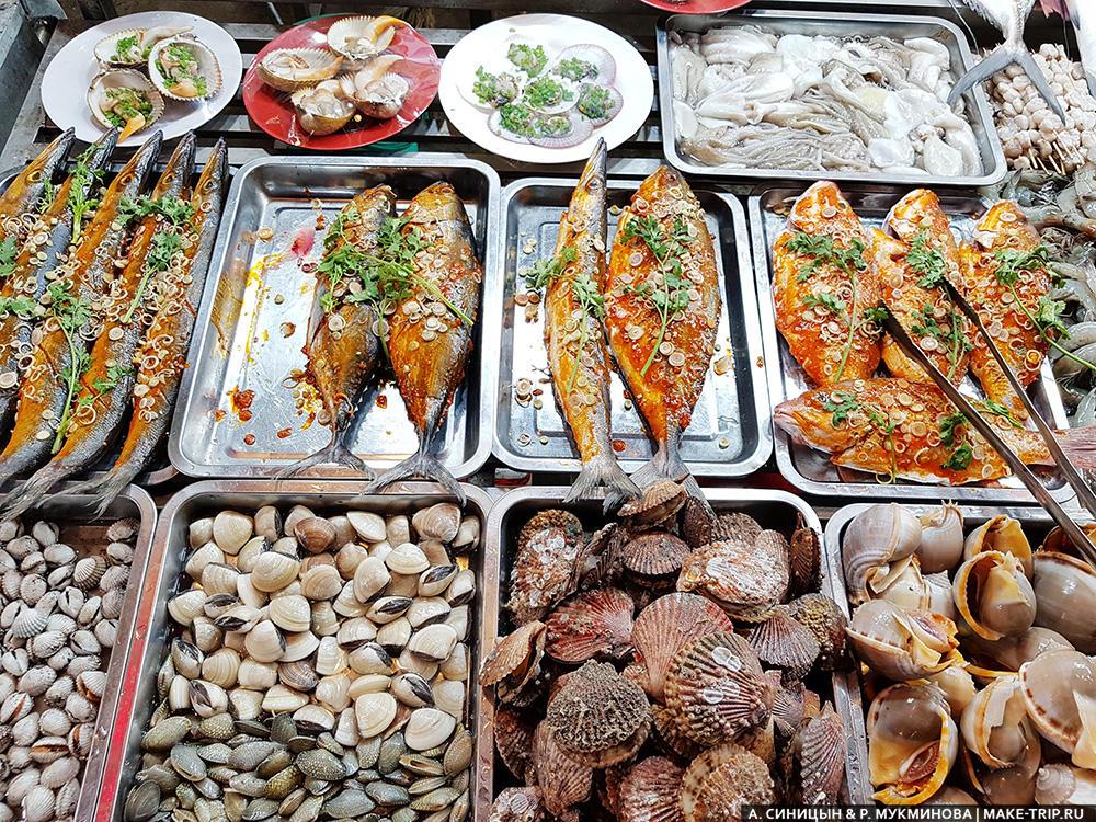 цены на фукуоке на морепродукты