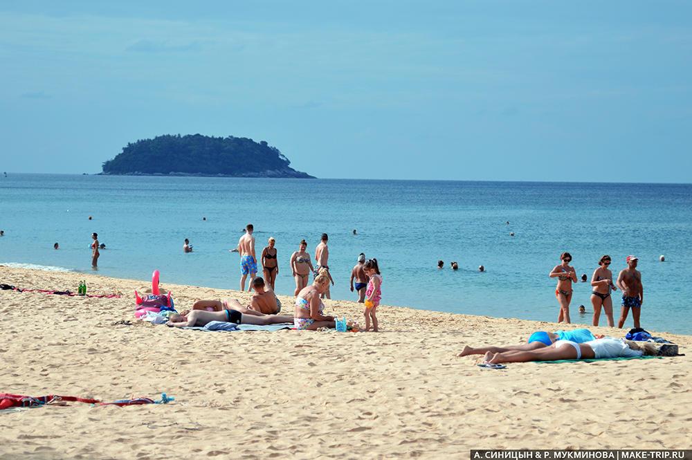 Отзывы о Пхукете. Пляж Карон. Phuket Karon Beach 2018