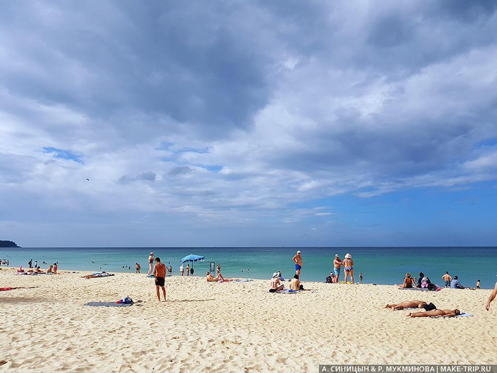Отдых на пляже Карон на Пхукете 2020
