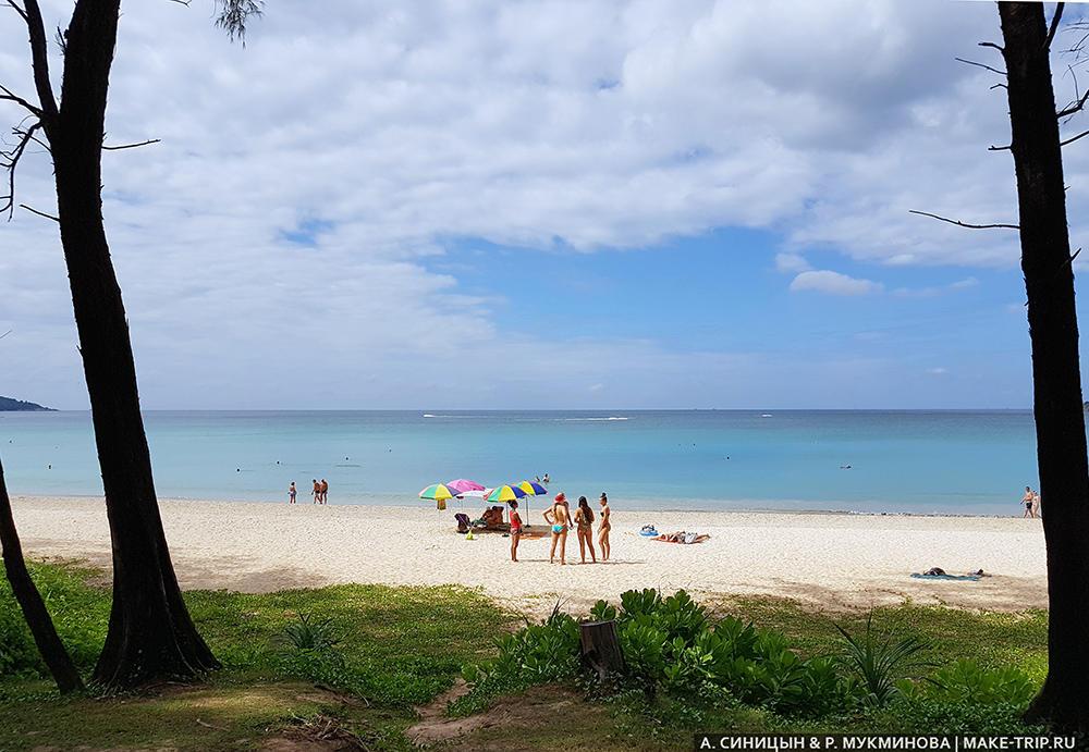 Пляж Ката на Пхукете, Phuket Kata Beach 2018