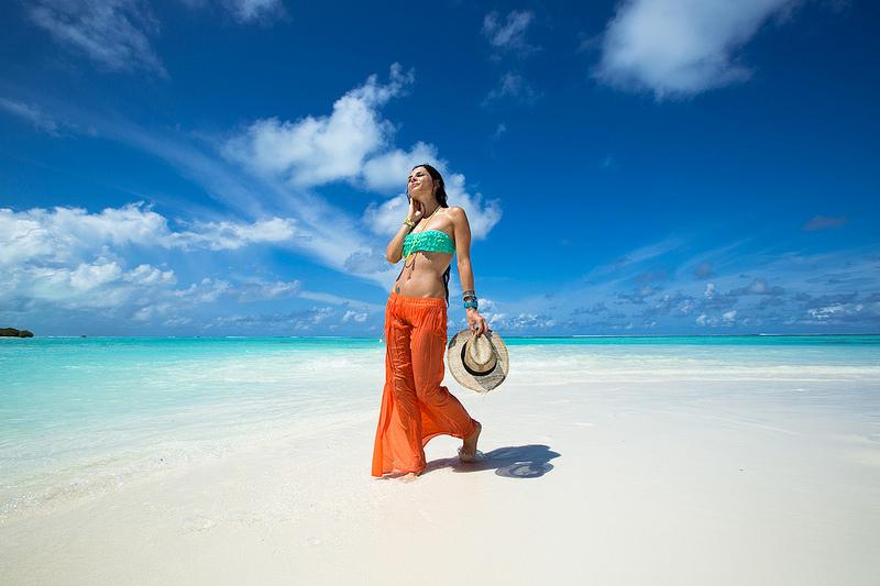 пляжи и отели на острове Маафуши