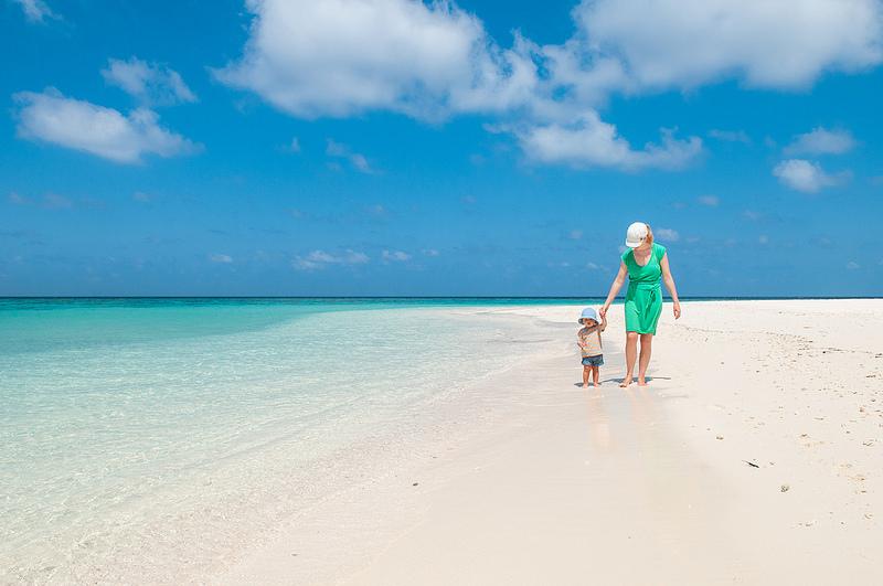 Мальдивы отдых с маленьким ребенком