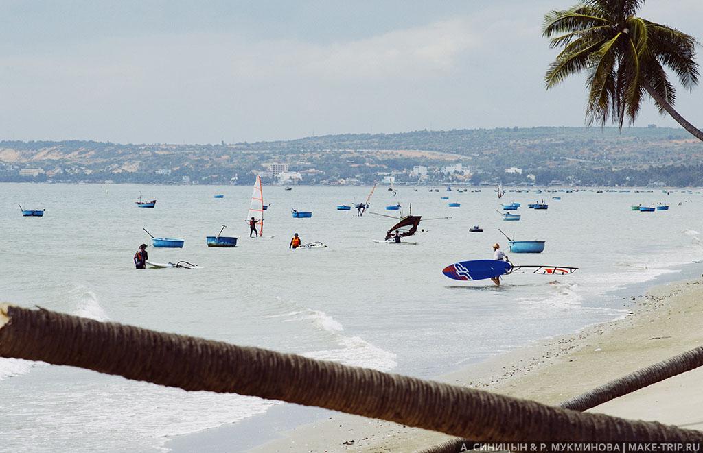Пляжи в Муйне во Вьетнаме