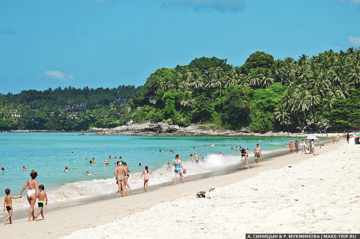 какой пляж лучше на пхукете