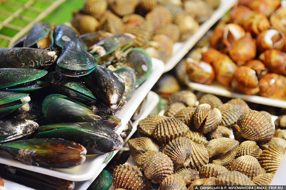 еда на пхукете дешевые морепродукты
