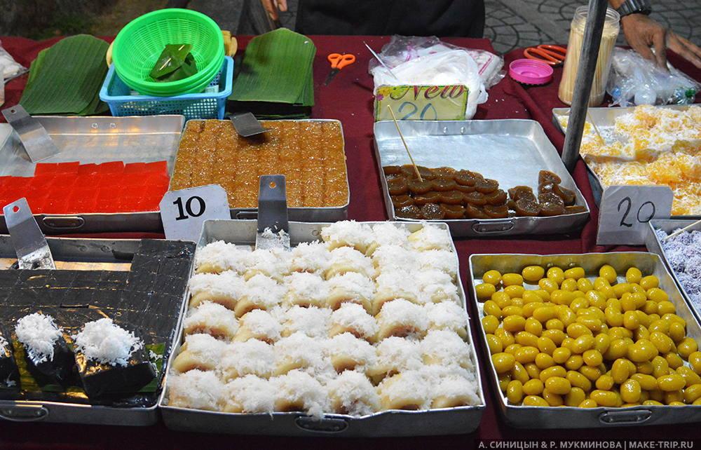 ночные рынки на патонг пхукет