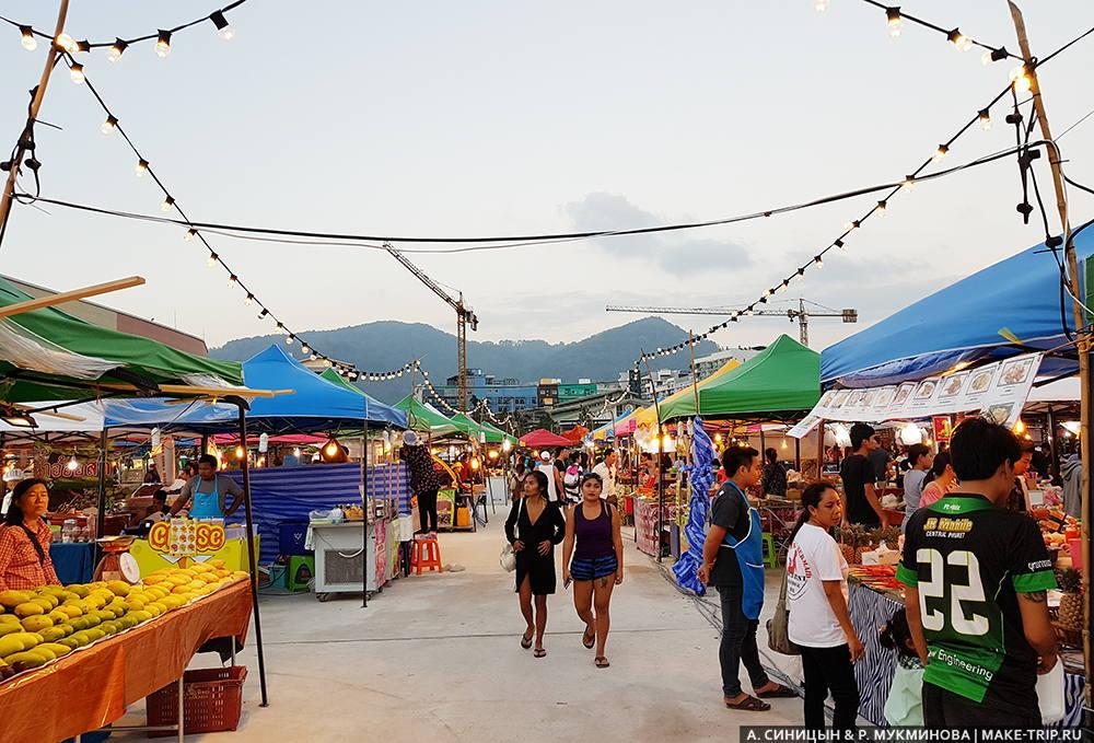 ночной рынок на патонге на карте