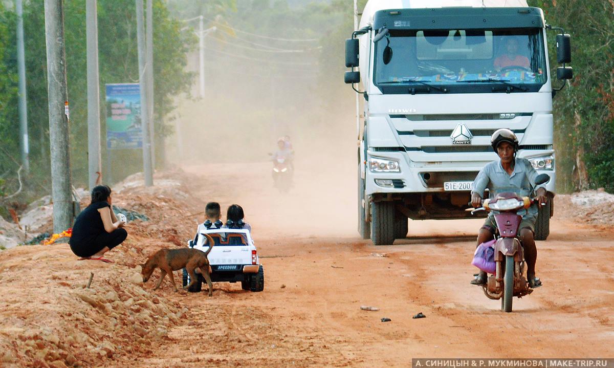 Недостатки острова Фукуок во Вьетнаме