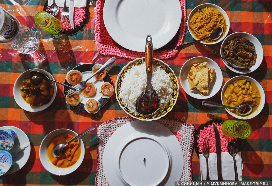 Что попробовать из еды на Шри-Ланке