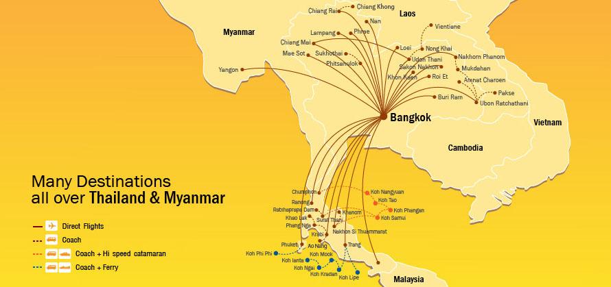бюджетные перевозчики тайланда