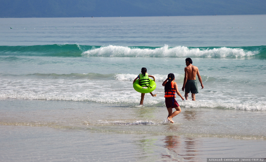 Отдых с детьми в ноябре на море