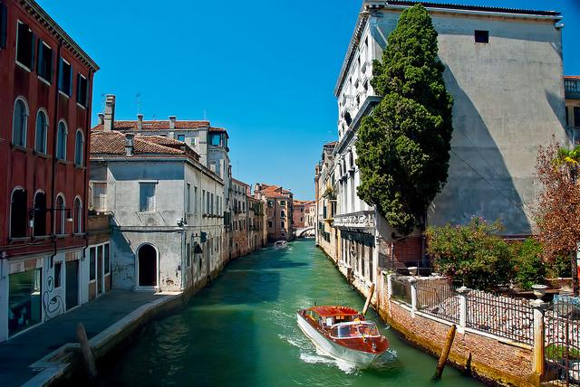 фото венеция каналы италия