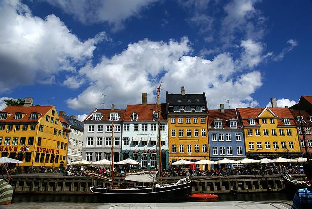 дешевые авиабилеты в Копенгаген. Дания.