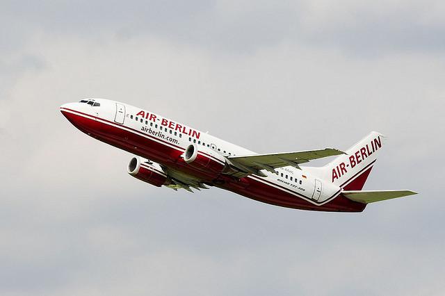 Air Berlin. распродажа билетов в берлин