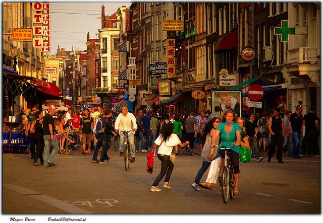 Амстердам. Тур по Европе самостоятельно