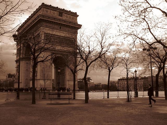 Париж. Тур по Европе самостоятельно