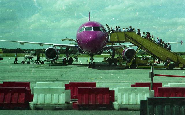 WizzAir. Бюджетные авиакомпании Европы.
