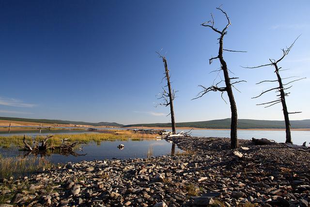 Озеро в Монголии. Природные ландшафты мира. Самостоятельные путешествия.