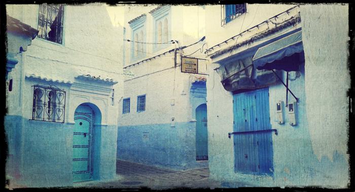 Город Шефшауэн. Самостоятельно в Марокко.