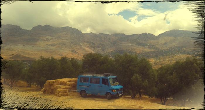 Горы Риф. Самостоятельно в Марокко.