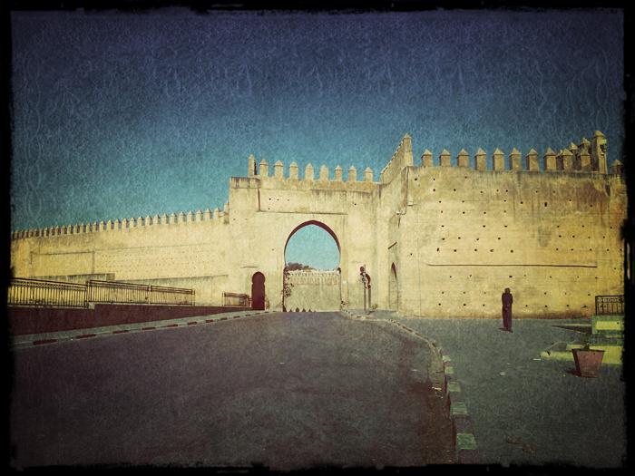 Фес. Самостоятельно в Марокко.