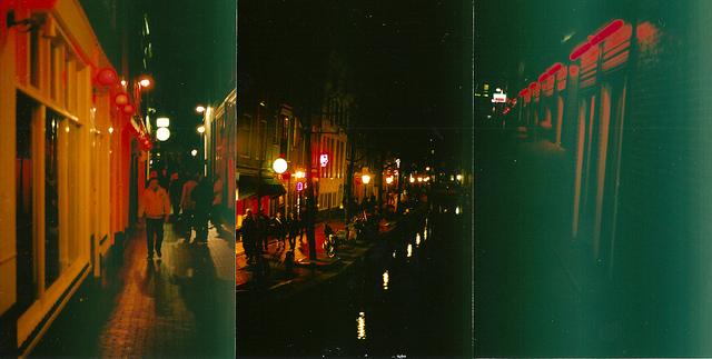 Квартал Красных фонарей. Амстердам. В Нидерланды самостоятельно. MAKE-TRIP.RU