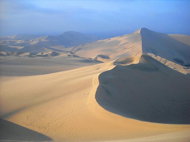 Дюны вокруг оазиса Уакачина