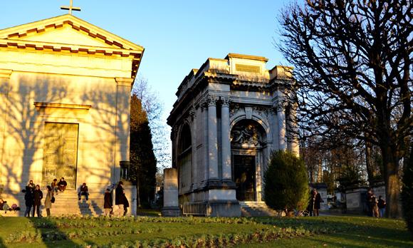 Кладбище Пер-Лашез. Фото. Самостоятельная поездка в Париж. Make-Trip.ru