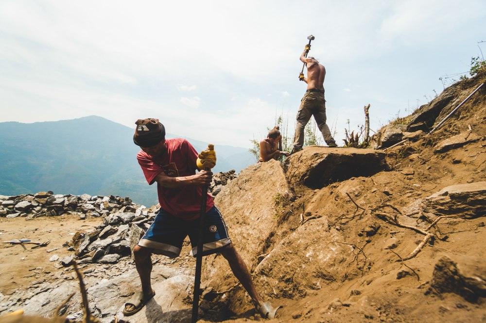 волонтерский проект в непале