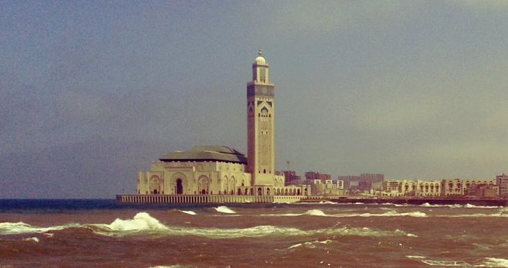 Касабланка. Мечеть Хасана II. Путешествие по Марокко. Самостоятельные путешествия. MAKE-TRIP.RU