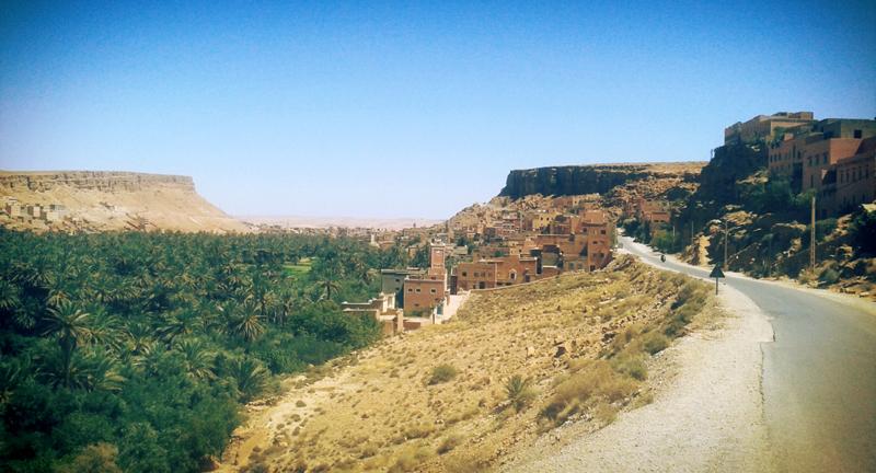 Оазис Тодра. Тангир. Марокко