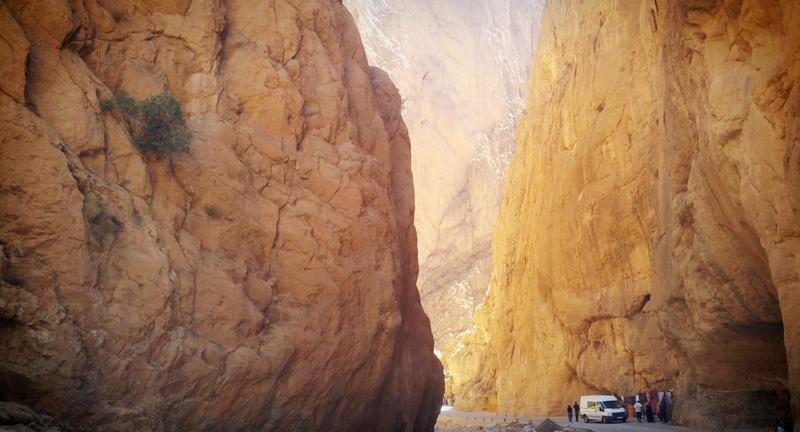 Ущелье Тодра. Путешествие по Марокко. Самостоятельные путешествия. MAKE-TRIP.RU