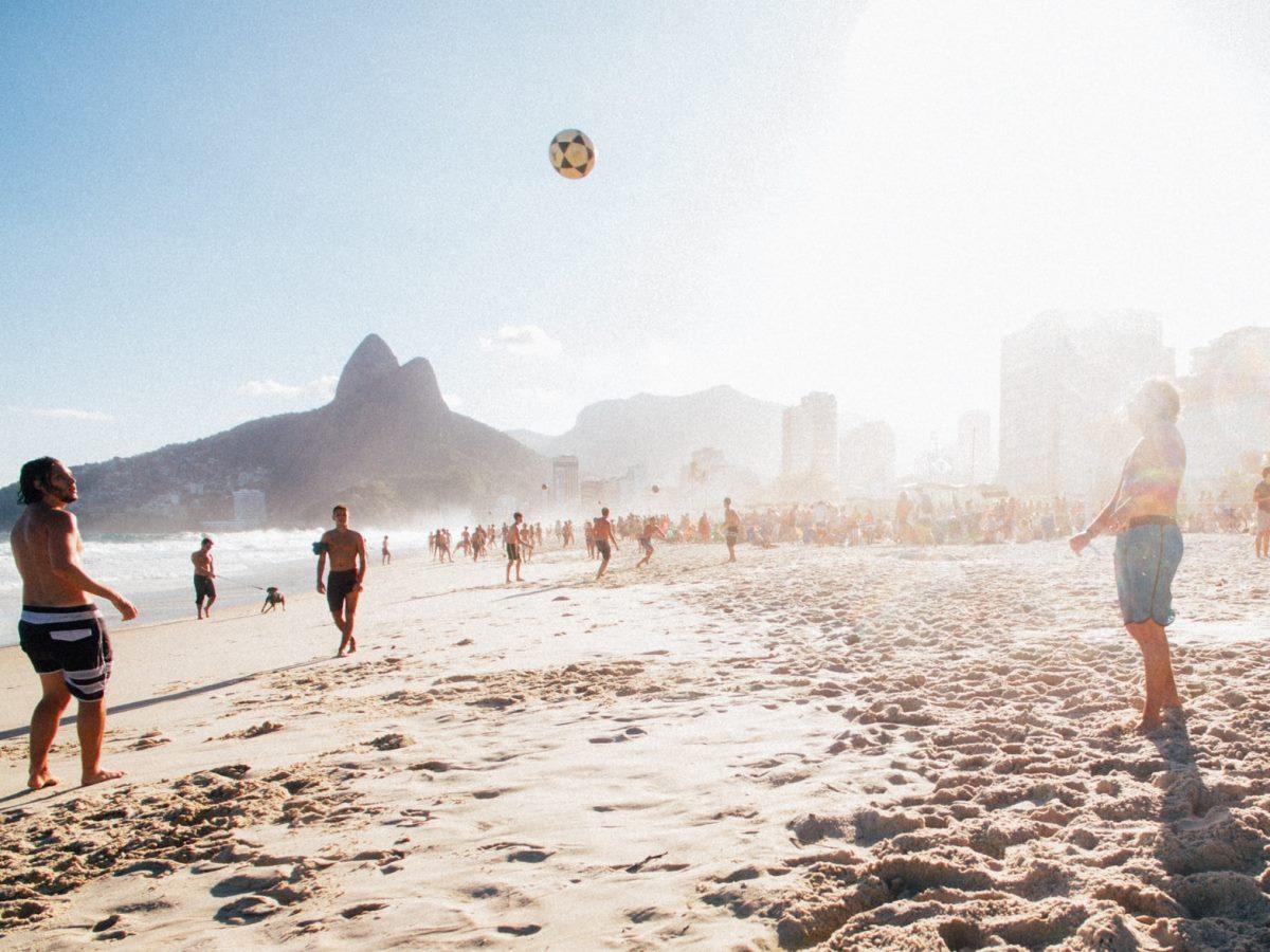 Пляж в Рио-де-Жанейро