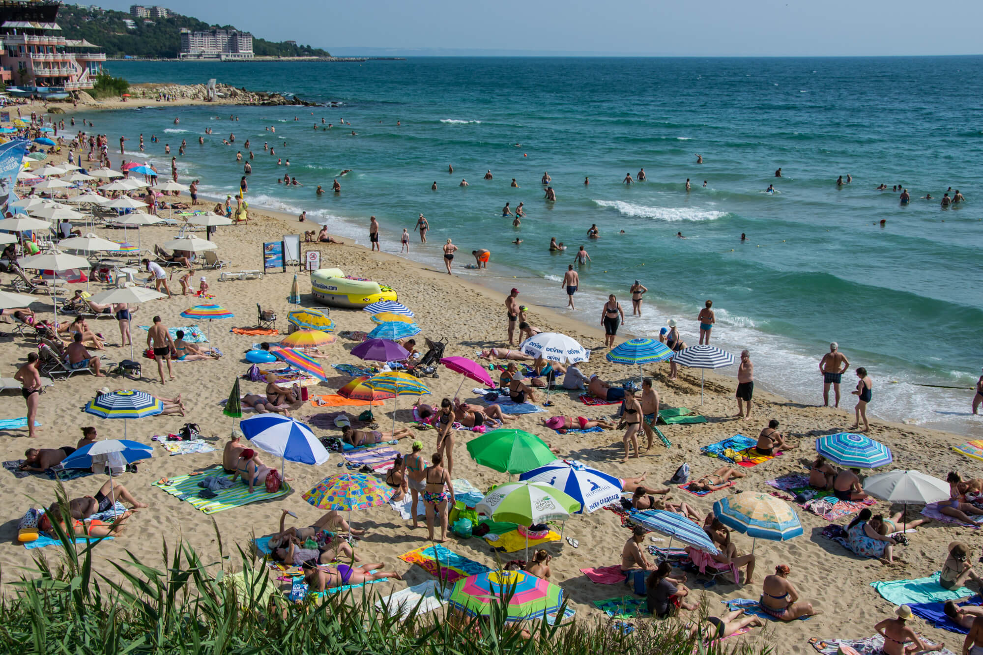 Отели в Болгарии с хорошими пляжами