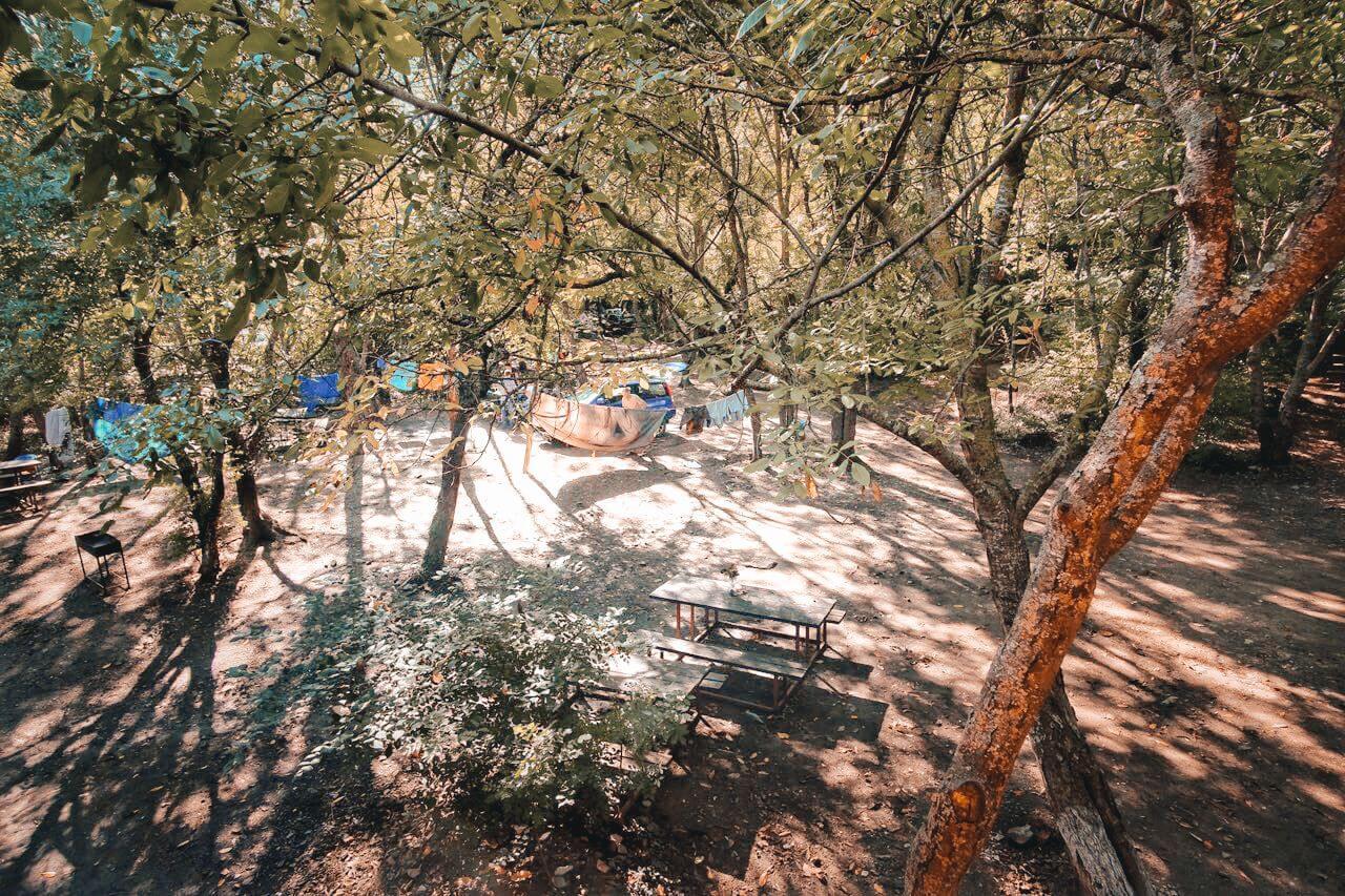 Палатки в Абрау-Дюрсо