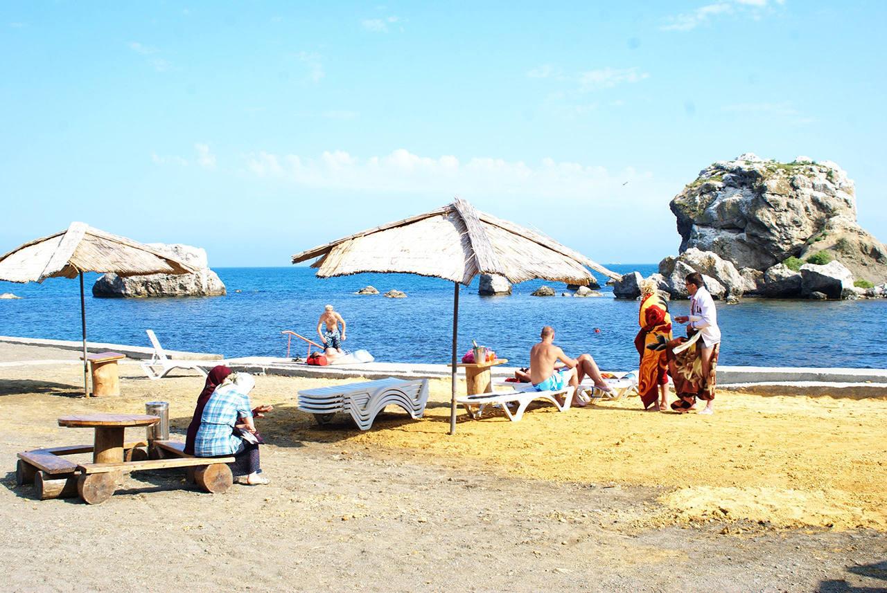 Курорты Крыма с песчаными пляжами